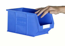 10 X Barton Blue TC2 Plastic Parts Storage Bins Container Box **SLIGHTLY USED**
