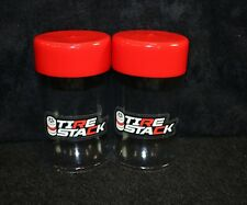 RC Buggy Tire Stack 2 Pack Short Course or 1/8 Scale Car Storage Tube SCTE 8ight