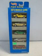Hot Wheels 5 Car Gift Pack 60s Muscle Cars w Mustang
