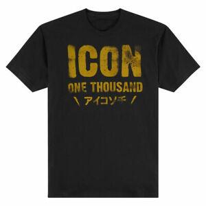 Icon 1000 Statement T-shirt (Black) 2XL (2X-Large)