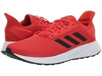 Men's Shoes adidas DURAMO 9 Athletic Running Sneaker F34492 ACTIVE RED / BLACK