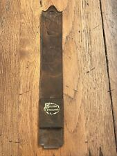 1947 golden thoughts leather book mark with calendar