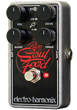 Electro Harmonix EHX Bass Soul Food Pedal, Brand New in Box, Free Shipping