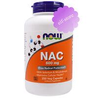 Now Foods, NAC (N-Acetyl Cysteine), 600 mg