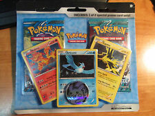 Pokemon PLASMA FREEZE+STORM Card Booster BLISTER Pack Moltres Articuno Zapdos