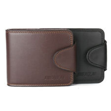 Men's Fashion Genuine Leather Wallet Business Credit/ID Card Holder Coin Purse