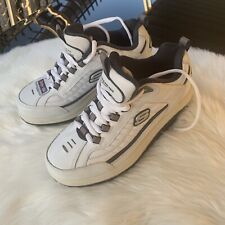 Skechers Shape Ups Navy / White Walking Sneakers Cushioned Toning Shoes Mens 8