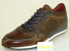 Lorenzi Shoes Mens Made In Italy Leather Handmade Shoes Trainers EUR 41/ UK 7