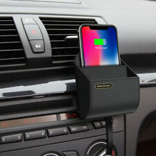Car Accessories QI Wireless Bluetooth Charger Charging storage box for iPhone x