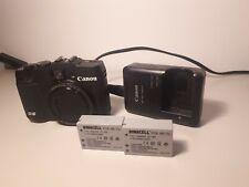 Canon PowerShot G16 12.1 MP Digitalkamera - Schwarz