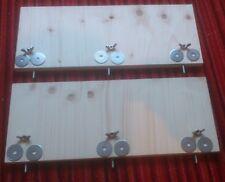 2 Sitzbretter für Chinchilla,Degu,Ratte,Mäuse,40x20 cm Nagerzubehör...