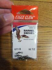 Eagle Claw  Size 12 Barrel Swivel Fishing Accessory