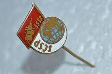 VTG Russian Soviet SPACE KOSMOS pin badge brooch - First sputnik USSR Enamel old