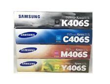 4 x ORIGINAL TONER Samsung CLP-365W CLX-3305 CLX-3305 C410W C460 FN FW / P406C