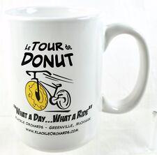 Le Tour  De Donut What A Day What A Ride Coffee Mug Klackle Orchards Michigan