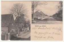 Litho Ak Gruss aus Madel Madel Burg ? bei Magdeburg Bahnpost 1916 Zug 283 (A2526