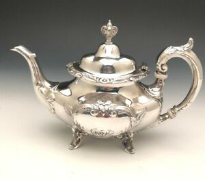 Burgundy by Reed & Barton Tea Pot, Sterling Silver, gently used
