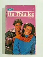 On Thin Ice by Jocelyn Saal Sweet Dreams Vintage Teen Romance