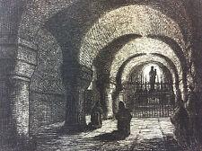 Crypte du Grand Saint Jean Château-Gontier Mayenne 1872 A Tancrède Pays de Loire
