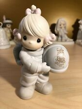 """Precious Moments #C0012 """"The Club That's Out of This World"""" 1991 Figurine 5.25"""""""