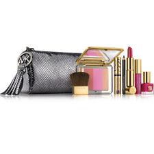 Estee Lauder Michael Kors Makeup Gift Set Cosmetic Bag Gunmetal -Limited Edition