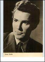 Starfoto Porträt Kino Fernsehen Cinema Film Schauspieler 1966 Ferenc ZENTHE Foto