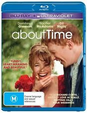 About Time Region B Ultraviolet Has Expired Blu-Ray Excellent Condition