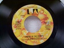 "KENNY ROGERS ""COWARD OF THE COUNTY"" 45"