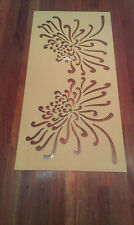 Mdf decorative screen  1200 x 600 x 6 mm interior (raw painting required)