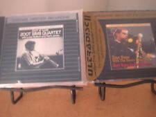 ZOOT SIMS Copenhagen MFSL 24K ARAT GOLD AUDIOPHILE RARE SEALED & ALUMINUM CD SET