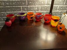 Pillsbury Funny Face Drink Cups Mugs Lot of 8