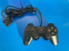 Manette Officielle Controller PS2 Playstation Dualshock 2 Sony Noire Filaire N°1