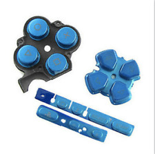 Blue Buttons Key Pad Set Repair Replacement Fits for Sony PSP 3000 Slim Console