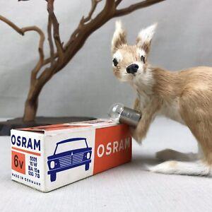 Genuine OSRAM Replacement Lamp 5001 10W 6V BA 15s 030 713 Vintage K15603