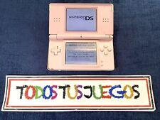 Consola Nintendo Ds Lite Rosa  (LEER) 3704