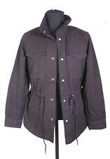 T18-32 Levis Damen Parka Jacke schwarz Baumwolle Gr. S Field Jacket NEU