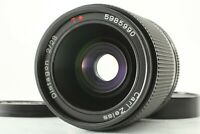 【EXC+++++】 Contax Carl Zeiss Distagon 28mm f/2 AEG Lens For CY Mount From JAPAN