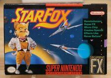 Star Fox - Super Nintendo - COMPLETE! (snes cib starfox)