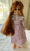 vintage Ideal Crissy doll Country Fashion red growing hair Original outfit!