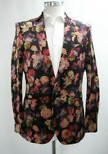 Herren Harry Brown Slim Fit Floral Party Blazer (40r)... ref: 6756
