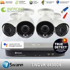 Swann 5MP SWDVK-849804 inc 8Ch DVR-4980 2TB HDD & 4x 5MP True Detect Bullet Cams