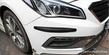 Carbon fiber Front Rear Bumper Guard Strip Protector Mercedes benz C E GLA CLA
