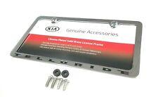 Kia Telluride Chrome License Plate Frame S9F39-Am000 Kia Oem 50 State Certified