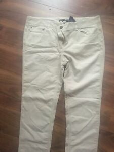 Tommy Hilfiger Ladies corduroy trousers, Beige Size 8 30L