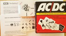 Vintage AC/DC The Exciting Electric Circuit Card Game 1975 Ampersand Press