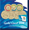 2018 XXI Commonwealth Games 7 Coin Collection $1 One + $2 Two Dollar Coins UNC