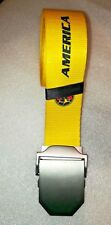 MEXICO SOCCER TEAM Club America belt MEXICO BELT
