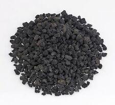 American Fireglass Black Lava Rock, 1/4 to 1/2, 10 Pounds