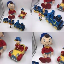 Vintage Golden Bear Noddy Job Lot Train Car Plush Soft Toy