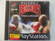 !!! PLAYSTATION PS1 SPIEL Victory Boxing Challenger, gebraucht aber GUT !!!